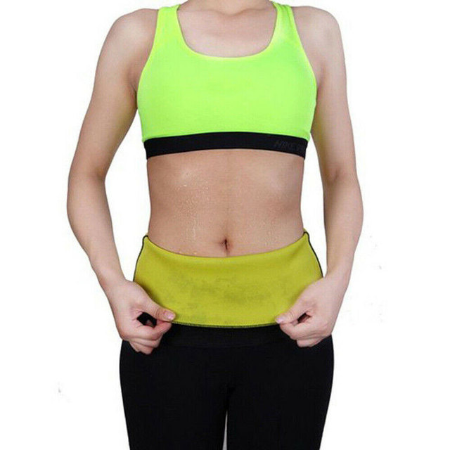 New Sport Waist Trainer Weight Loss for Women Sweat Thermo Wrap Body Shaper Belt Gym