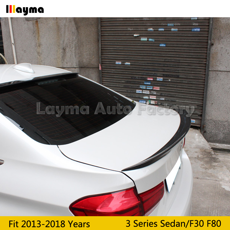 Carbon Fiber Trunk Spoiler Wing For 2013-2018 3-Series F30 Performance Style