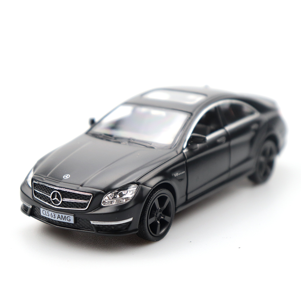 New Frosted Toy Car Benz Class CLS High Simulation Alloy Diecast Car Mercedes Model Pull Back Collection For Children Gifts