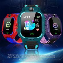 Детские Водонепроницаемые Смарт-часы Z6 с GPS-трекером и камерой