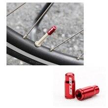 2 piezas GUB Presta/Schrader tapa de la válvula de aleación de aluminio bicicleta de carretera MTB tapa de la válvula de ciclismo