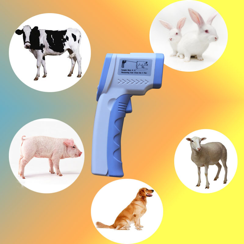 Gaomu High-El Farm Infrared Thermometer Measured Veterinary Pet Dog Animal Infrared Thermometer