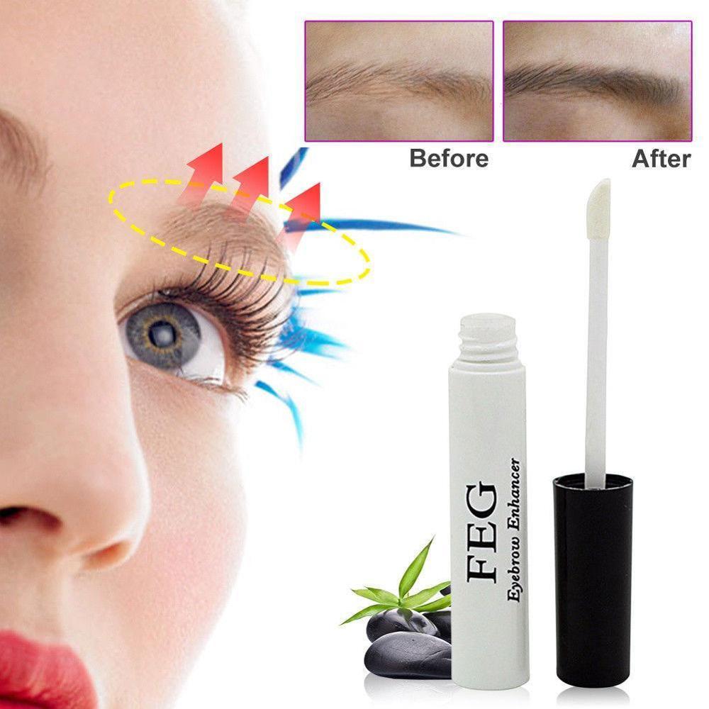 Eyebrows Enhancer Rising Eyebrows Growth Serum Eyelash Growth Liquid Makeup Eyebrow Longer Thicker Make Up Tools NEW