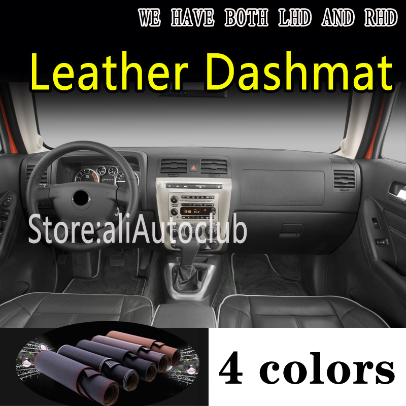 For Hummer H3 H3T 2006 2007 2010 Leather Dashmat Dashboard Cover Dash Mat Sunshade Carpet Custom Car Styling Auto Accessories