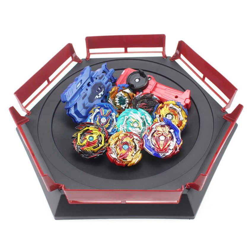 Beyblade Burst Launchers Beyblade GT 장난감 경기장 Kids Boys 선물 Toupie Bayblade 금속 버스트 God Spinning 탑 베이 블레이드 블레이드