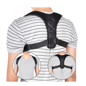 Brace Support Belt Adjustable Back Posture Corrector Clavicle Spine Back Shoulder Lumbar Posture Correction for Adult Children(China)