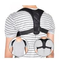 Pas podtrzymujący regulowany korektor postawy na plecy obojczyk kręgosłupa powrót ramię korekta postawy lędźwiowej dla dorosłych dzieci Szelki i korektory postawy Uroda i zdrowie -