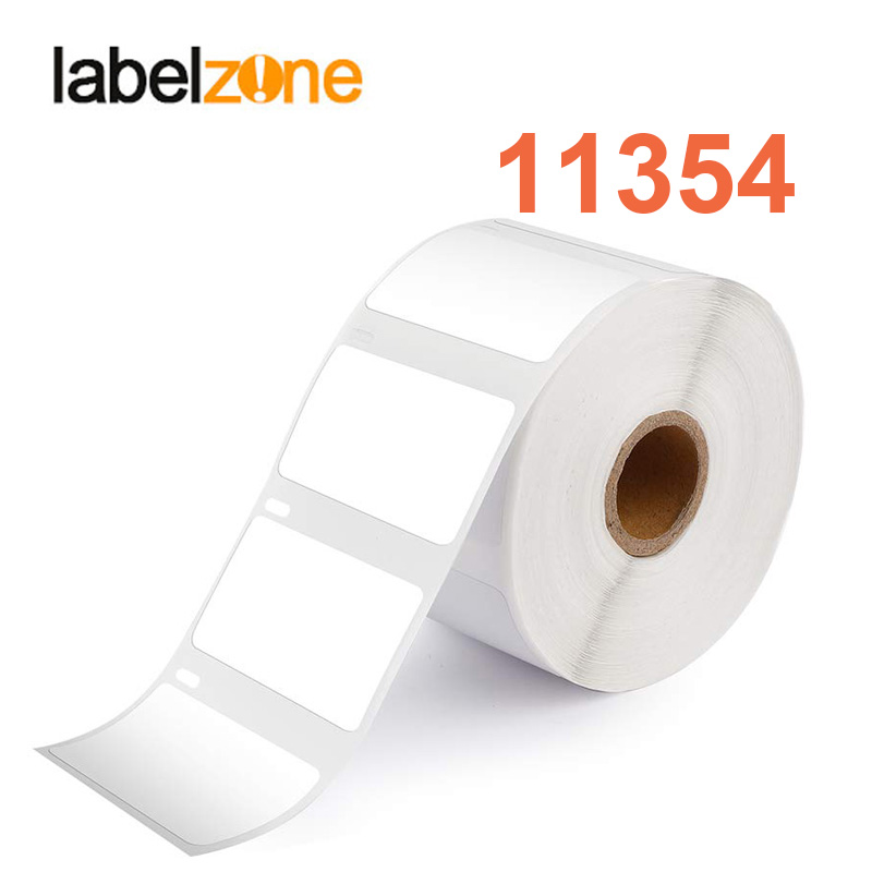 1Roll/1000pcs 11354 Label 57mm*32mm Thermal Paper Compatible For Dymo LabelWriter 400 450 450Turbo Printer SLP 440 450
