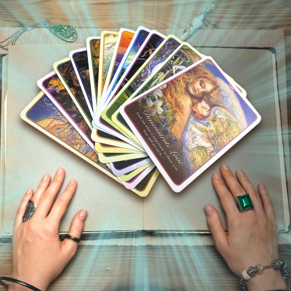50 Sheets Cards/sets Whispers Of Love Oracle Cards English Version Playing Card Tarot Board Game Card