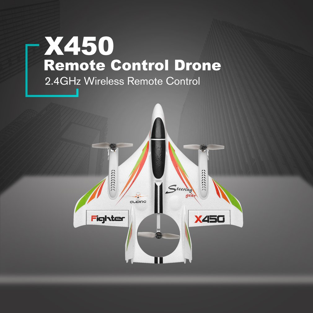 cheapest X450 3D Aerobatic RC Airplane 6 Channels Remote Control Vertical Takeoff Landing Fixed Wing Plane Helicopter Toys Drone