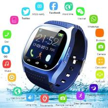 Sport Bluetooth Smart Watch Luxury Wristwatch M26 with Dial SMS Remind Pedometer for IOS AndroidAltimeter Stopwatch Smartwatch free shipping in stock dz09 bluetooth smart watch m26 dial sms pedometer for all phone android phone smartwatch m26