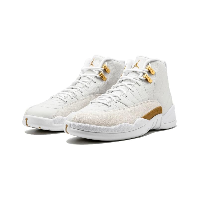 Original Authentic Nike Air Jordan 12 Retro OVO Men's Basketball Shoes Comfortable Classic Athletic Designer Footwear 873864-03 24