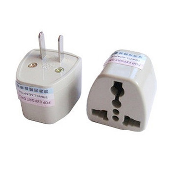 1pcs European EU Plug Adapter Japan China American Universal UK US AU To EU AC Travel Power Adapters Converter Electrical Charge image