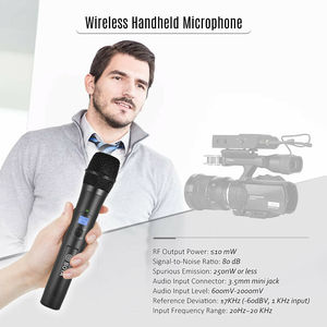 Image 5 - Boya by whm8 Pro UHF kablosuz mikrofon dondurma, uyumlu sistemi by wm8 Pro