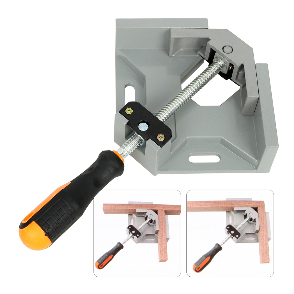 NICEYARD Woodworking Welding Positioner 90 Degree Corner Right Angle Clamp Quick Assembly Fixture Welding Fixed Clip title=