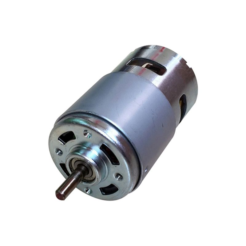 795 DC Motor Large Torque High Power DC12V-24V Universal Motor Double Ball Bearing Mute High Speed Round Axis
