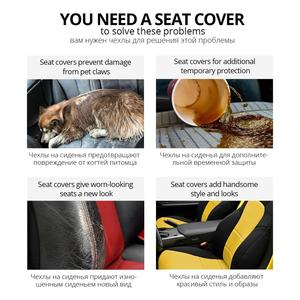 Image 5 - AUTOYOUTH Sports Car Seat Covers Universal Fit Most Brand Vehicle Seats Car Seat Protector Interior Accessories Black Seat Cover