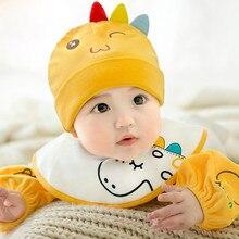 1 шт., новая детская шапка на осень и зиму, шапки для маленьких мальчиков и девочек, вязаная шапка из хлопка и шерсти для новорожденных, Теплая Шапка-бини со смайликом для малышей