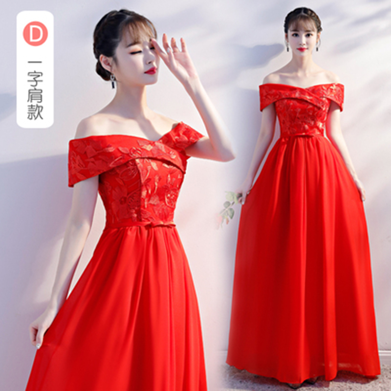 Burgundy   Bridesmaid     Dress   Chiffon Off The Shoulder Woman   Dress   for Party and Wedding Vestido Azul Marino Sexy Sister   Dress   Prom