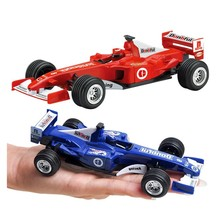 цена 1:32 Diecast Alloy Toy Car Vehicles Formula 1 Pull Back F1 Sports Racing Simulation Model Car kids Toys For Children Boys