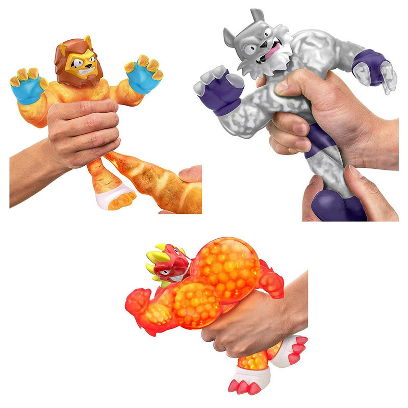 GOO Jit Zu Copy Software Soft Shark Lion Wolf Toys Slimy Stress Relief Squeeze Hobbies Dolls Accessories For Children Kids Gifts