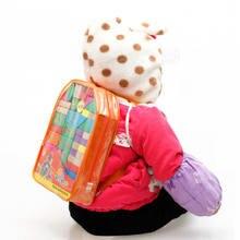 Бесплатная доставка деревянный рюкзак детские развивающие игрушки