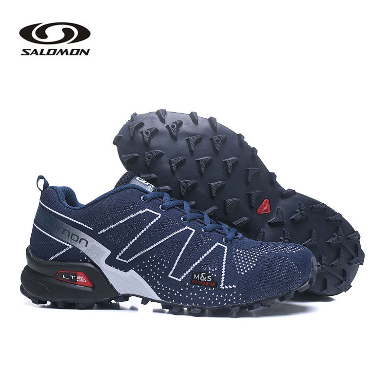 Salomon Speed Cross 3.5 Men's Outdoor Shoes Climbing Hiking Sport Breathable Sneakers Solomon Speedcross Male Zapatillas Hombre