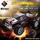 Радиоуправляемый автомобиль WLtoys A979 1/18 4WD гоночный автомобиль с дистанционным управлением Внедорожный гоночный автомобиль 2,4 ГГц пульт дистанционного управления на радиоуправлении светодиодный высокоскоростной грузовик багги - 5
