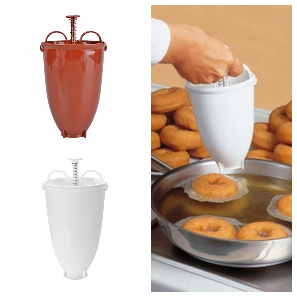 Plastic Donut Doughnut Maker Batter Dispenser For Cake DIY Baking Tools