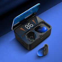 Top quality ES01 TWS Bluetooth Earphone V5.0 Touch Wireless Earbuds 9D Stereo Sport Waterproof Headset handsfree LED display