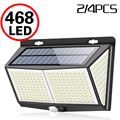 468 светодиодный солнечный светильник человеческого тела Сенсор 288 Солнечная лампа IP65 открытый светильник Автоматическая регулировка яркос...