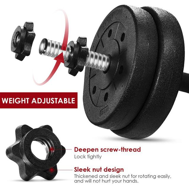 Adjustable Dumbbell Weight Set   4
