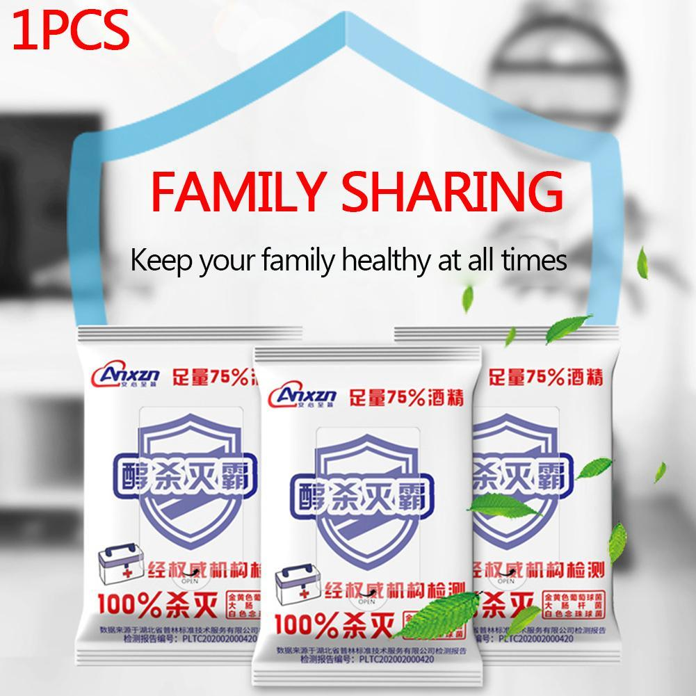 Disinfection Wipes 75 Degree Ethanol Wipes Portable Pure Alcohol Wipes Sterilization And Disinfection