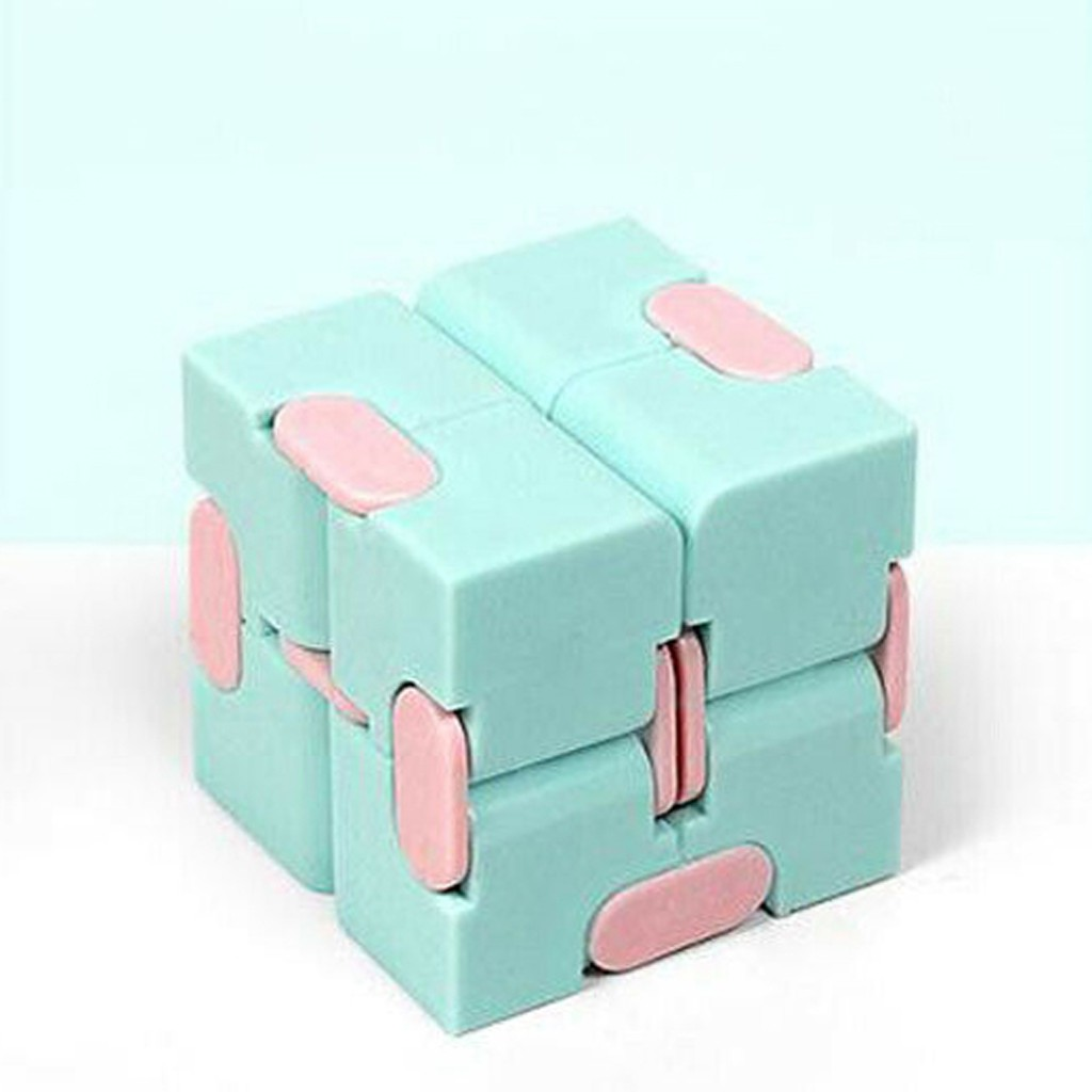 Комплект из 1 предмета; Для взрослых надувные игрушки Бесконечность волшебный куб пазл игрушки для снятия стресса забавные ручная игра четы...