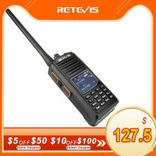 RETEVIS RT52 DMR Radio Digital Walkie Talkie Dual PTT doble banda DMR VHF UHF GPS Radio de dos vías encryted Ham amatner Radio + Cable