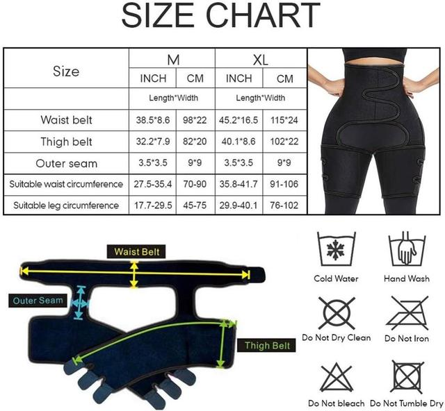 Hot Shapers Corset Secret Shaperwear Women Sport High Waist Thigh Trimmer Tummy Control Sauna Effect Leg Waist Trainer Belt 5