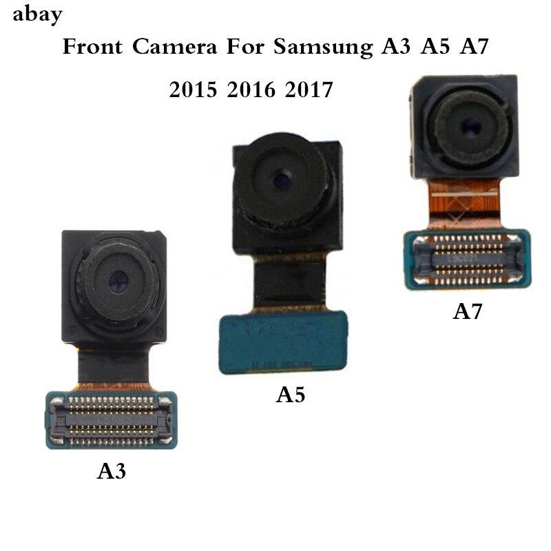 New For Samsung Galaxy A3 A5 A7 2015 2016 2017 A320F A520F A720F A310F A510F Front Facing Camera Flex Cable Repair Parts