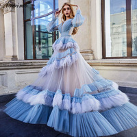 Turkish Couture Long Celebrity Dress 2020 Vintage Model Photography Gowns Red Carpet Film Opening Ceremony Dresses Vestidos