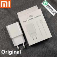 Xiao mi redmi note 7 chargeur charge rapide QC3.0 9V2A adaptateur secteur Type C câble pour mi x 2s mi 6X8 A2 A1 Note 8 max3 mi 8 lite