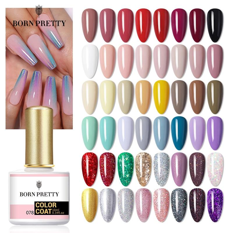 BORN PRETTY гель для ногтей 120 цветов 10 мл Гель лак для ногтей впитывающий УФ светодиодный Гель лак голографический Блестящий Nagel Kunst Gellack Гель для ногтей      АлиЭкспресс - Для красоты и здоровья