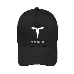 Cool Tesla baseball cap Men and women Summer New sun hat Tesla Hat boys Caps MZ-010(China)