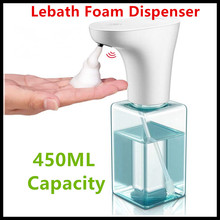Xiaomi Eco System Brand Lebath Auto Induction Foam Soap Dispenser Hand Washer Builting Battery Charge 450ML Capacity PK MiniJ
