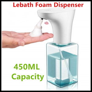 Image 1 - Xiaomi Eco System Brand Lebath Auto Induction Foam Soap Dispenser Hand Washer Builting Battery Charge 450ML Capacity PK MiniJ