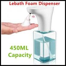 Xiaomi Eco System Marke Lebath Auto Induktion Schaum Seife Spender Hand Washer Builting Batterie Ladung 450ML Kapazität PK miniJ