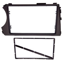 2Din Radio Fasia untuk Ssang Yong Actyon LHD Facia Dash CD Trim Instalasi Mount Kit Facia Bingkai Panel(China)