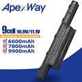 ApexWay 9 cellules 9900mAh batterie d'ordinateur portable pour Acer Aspire 5750 5551G 5755G 7560G 7551G 7741G e1-571g