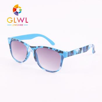 Okulary przeciwsłoneczne dla dzieci Baby Boy okulary przeciwsłoneczne duże kamuflaż kwadratowe okulary przeciwsłoneczne dla dzieci okulary dla dziewczynek okulary Trend 2021 hurt tanie i dobre opinie GLWL LZMGXWX CN (pochodzenie) Chłopcy SQUARE Z tworzywa sztucznego NONE UV400 50MM A1910-22 Blue Red Green Yellow One Size For All Face