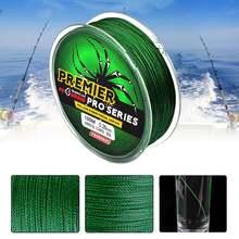 4 нити 100 м прочная плетеная леска 6 фунтов новый материал