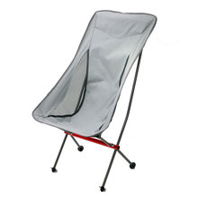 Draagbare Ultralight Opvouwbare Outdoor Camping Stoel Inklapbare Picknick Rugleuning Zetel Vouwen Aluminium Kruk