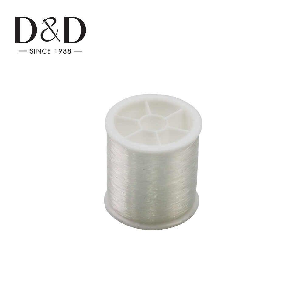 Pulsera de alambre inelástico de hilo de Nylon de 100M de alta calidad, hilo de cuerda de joyería, herramientas de costura de bordado DIY de 0,13mm